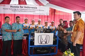 Honda Gandeng SMKN 1 Cariu Kabupaten Bogro, Jawa Barat