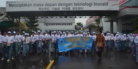 Kunjungan Industri  SMK Teknik Audio Video Jawa Bara SMKN 1 Cariu Kabupaten Bogor ke LG