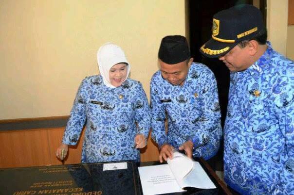 Kunjungan Ke Kantor Buapti Bogor