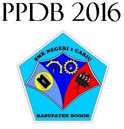 PPDB 2016 Online SMKN 1 Cariu
