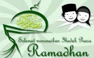 Selamat Menjalankan Ibadah Puasa Ramadhan 1437 H