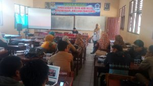 workshop IT di SMK Negeri 1 Cariu